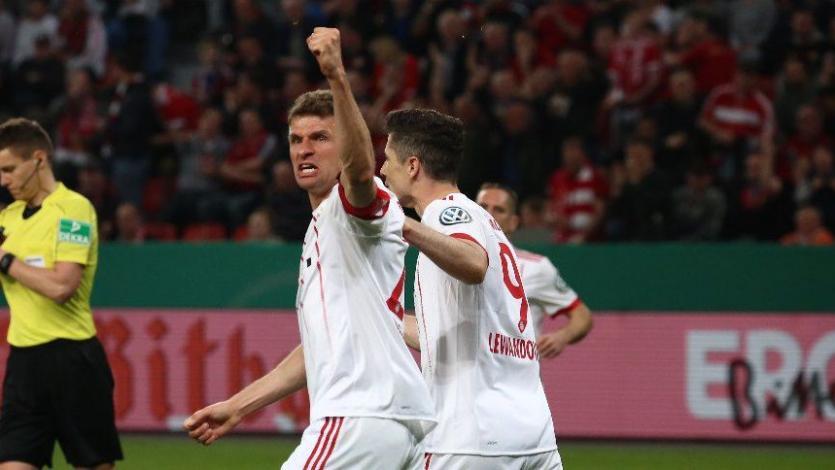 Copa de Alemania: Bayern avanza goleando a la final