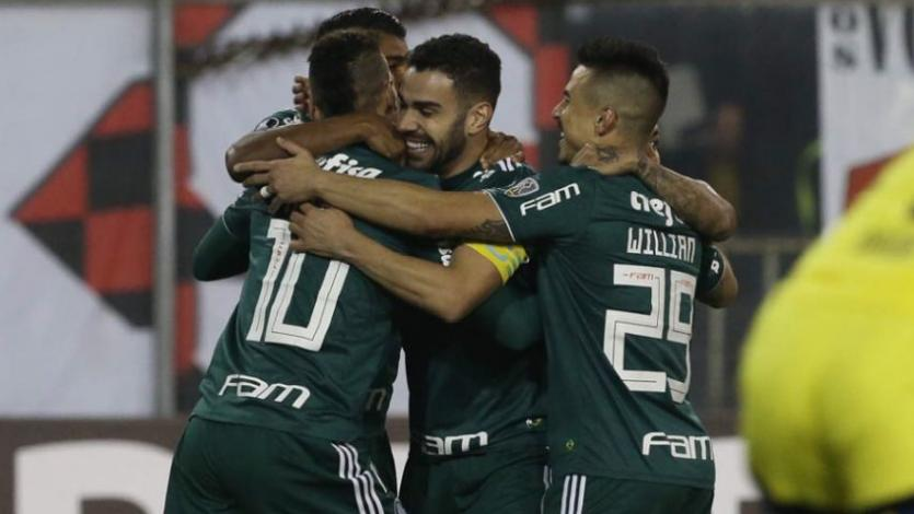 Copa Libertadores: Palmeiras se lleva el triunfo en casa de Colo Colo