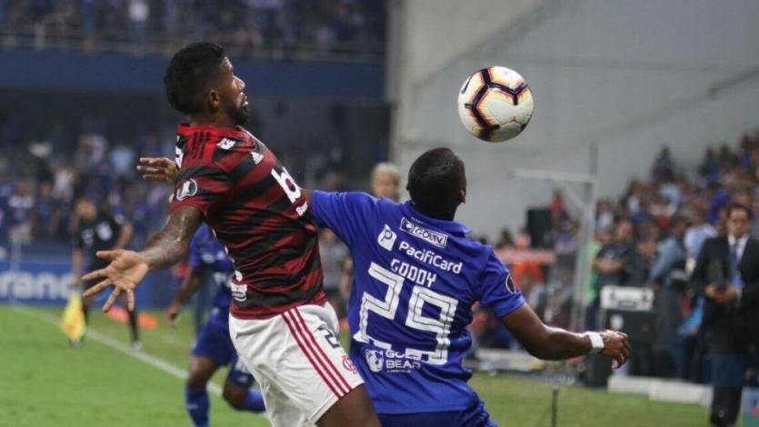 Copa Libertadores: Emelec dio el golpe y frenó a Flamengo en Ecuador (VIDEO)