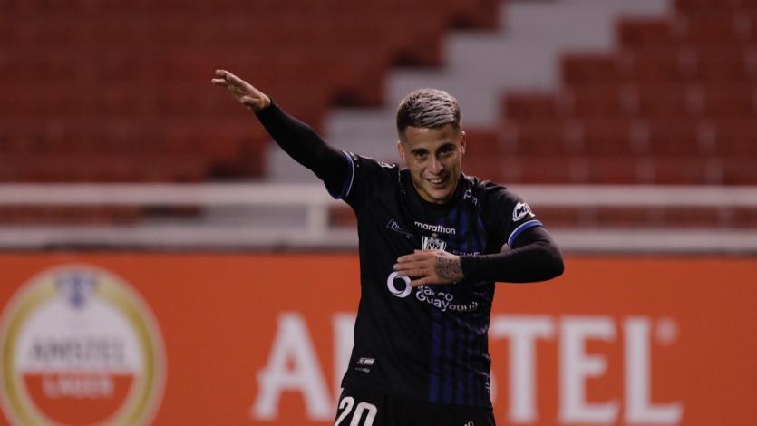 Copa Libertadores: Christian Ortiz y su gol a Universitario (VIDEO)