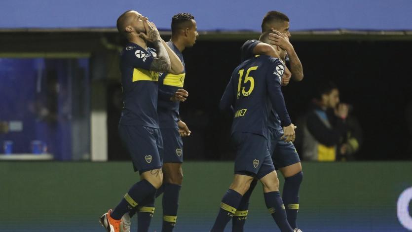 Copa Libertadores: Boca gana la primera batalla ante Palmeiras (2-0)