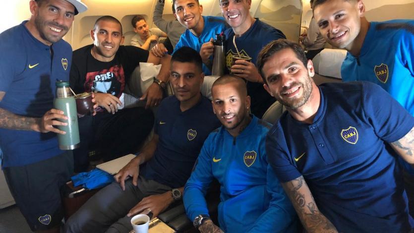 Copa Libertadores: Boca Juniors arribó a Madrid