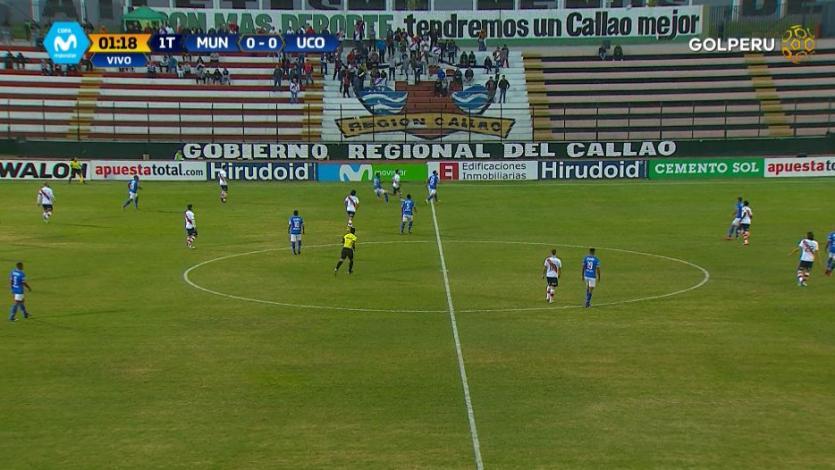 EN VIVO por GOLPERU: Deportivo Municipal 3-0 Unión Comercio