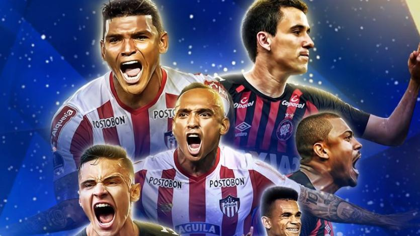Copa Sudamericana: Junior y Atl. Paranense abren la primera final