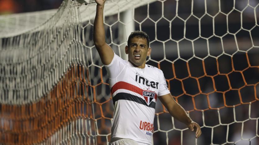 Copa Sudamericana: Christian Cueva fue expulsado en triunfo del Sao Paulo