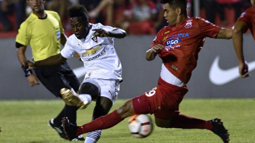 Copa Sudamericana: LDU sigue en carrera pese a perder en Bolivia