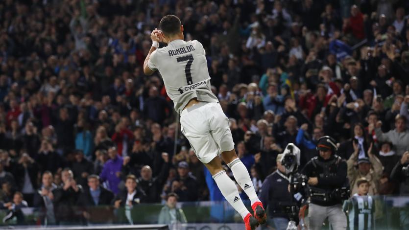 Cristiano Ronaldo anotó en el triunfo de Juventus sobre Udinese
