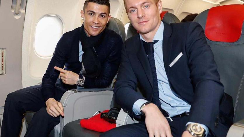 Real Madrid llegó a París para enfrentar mañana al PSG