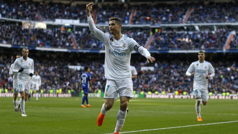 Real Madrid goleó al Alavés con doblete de Cristiano Ronaldo