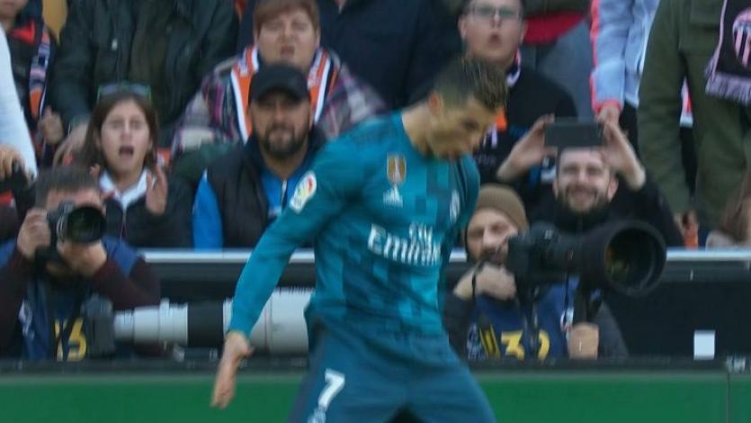 Cristiano Ronaldo superó el récord histórico de penales lanzados en La Liga