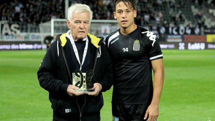 Cristian Benavente es el mejor jugador del mes en Sporting Charleroi