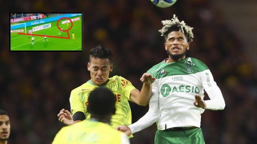 Cristian Benavente se lució con un perfecto pase gol ante el Saint Etienne de Trauco (VIDEO)