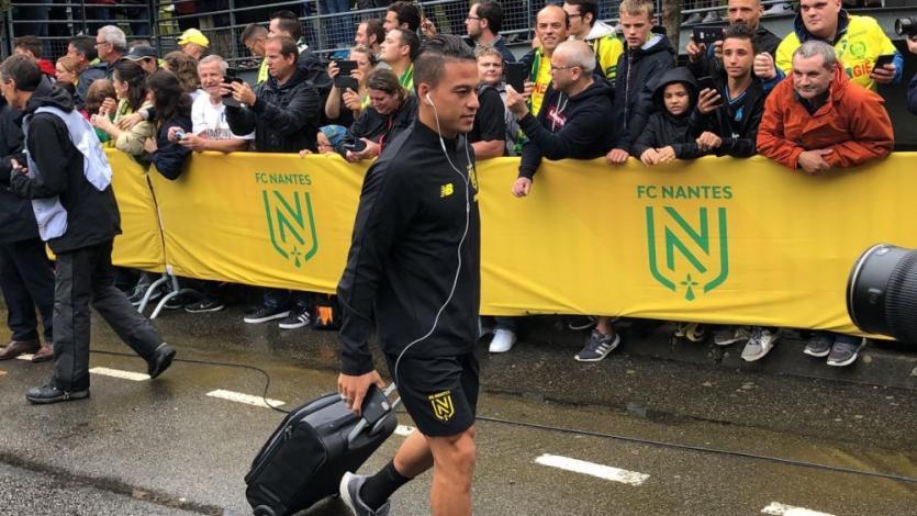 Nantes: Cristian Benavente se quedó en el banco de suplentes y no debutó en la Ligue 1 (VIDEO)