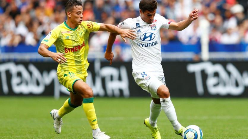 Cristian Benavente fue la figura del Nantes en la victoria 1-0 ante el poderoso Lyon y están punteros