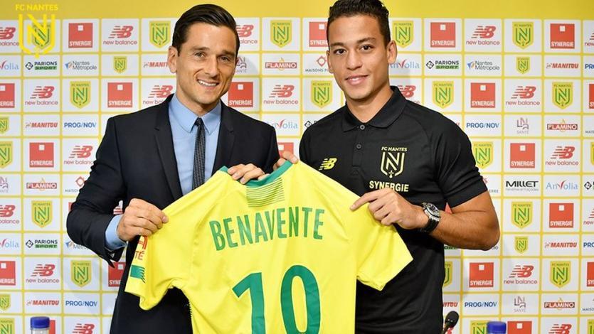 Ligue 1: Nantes convocó a Cristian Benavente por primera vez y debutará ante Olympique Marsella