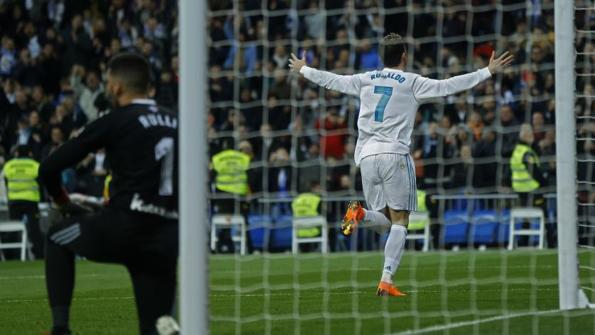 Real Madrid goleó a la Real Sociedad con 'hat trick' de CR7