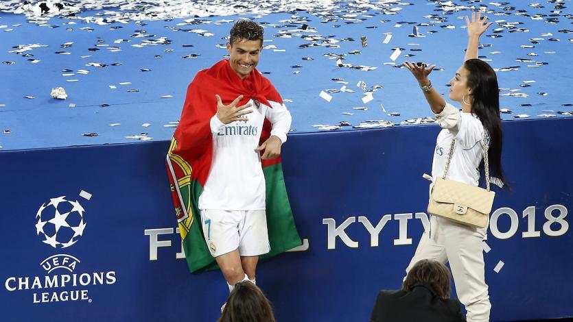 Cristiano Ronaldo obtuvo su quinta 'orejona' y se encuentra cerca del récord