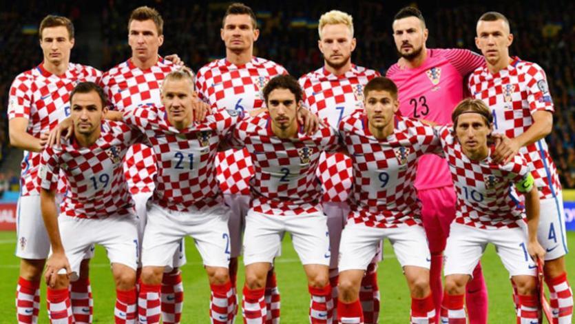Croacia presentó su lista de convocados para enfrentar a Perú y México