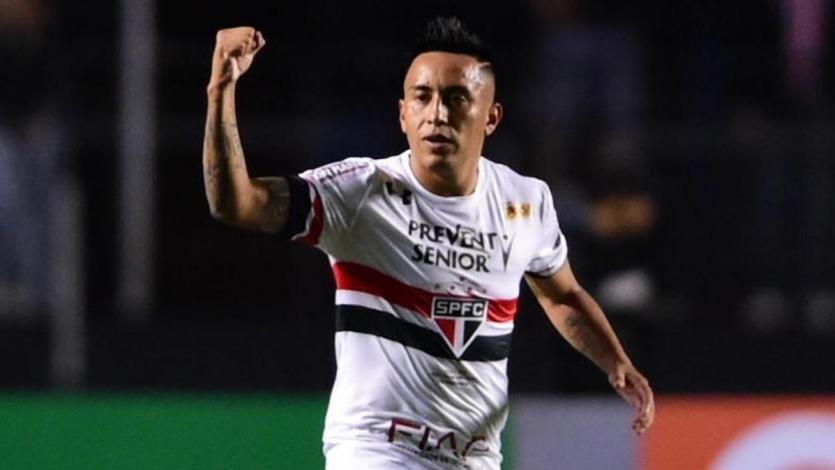 Sao Paulo y Christian Cueva buscan su primer triunfo en la Sudamericana