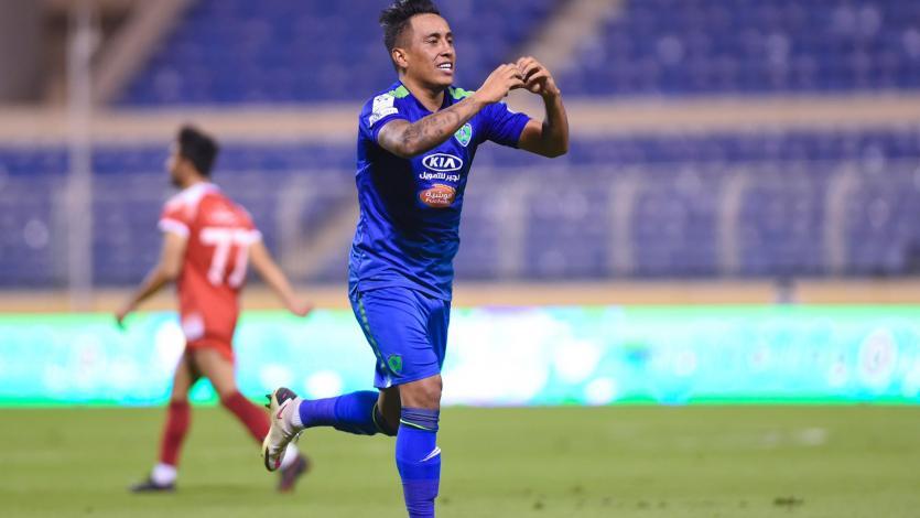 De jugada preparada: Christian Cueva anotó golazo con el Al-Fateh (VIDEO)