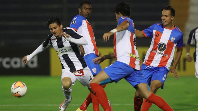 Copa Libertadores: Alianza Lima empató sobre el final con Estudiantes de Mérida