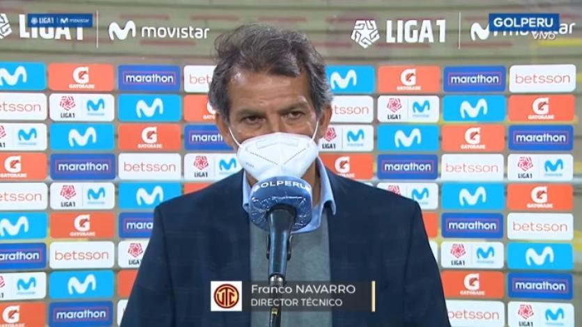 """Franco Navarro: """"Era fundamental arrancar la Fase 2 ganando"""""""