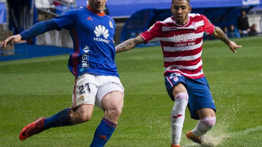 Sergio Peña no pudo evitar la caída del Granada