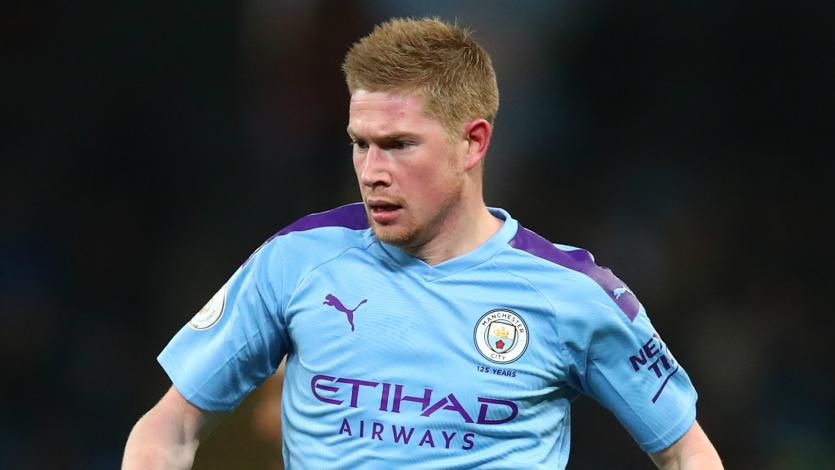 Kevin De Bruyne dispuesto a extender contrato con el Manchester City