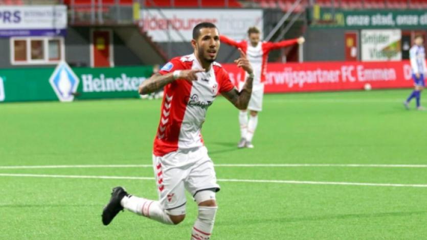FC Emmen: así fue el golazo de Sergio Peña en la Copa de Países Bajos (VIDEO)