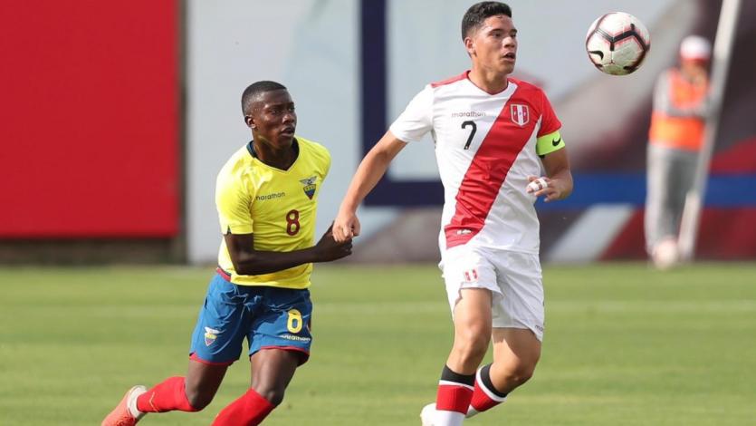 Sub 17: Perú se impone sobre Ecuador por 2-0 en duelo amistoso