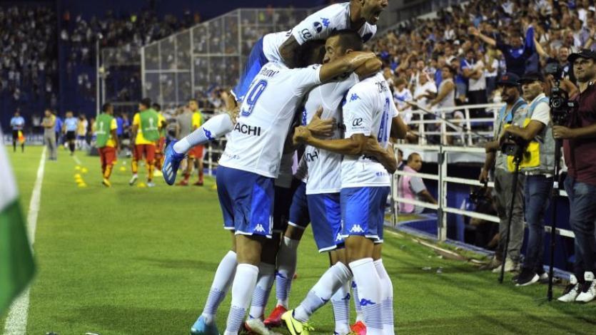 Copa Sudamericana: Luis Abram participó de la victoria de Vélez frente a Aucas