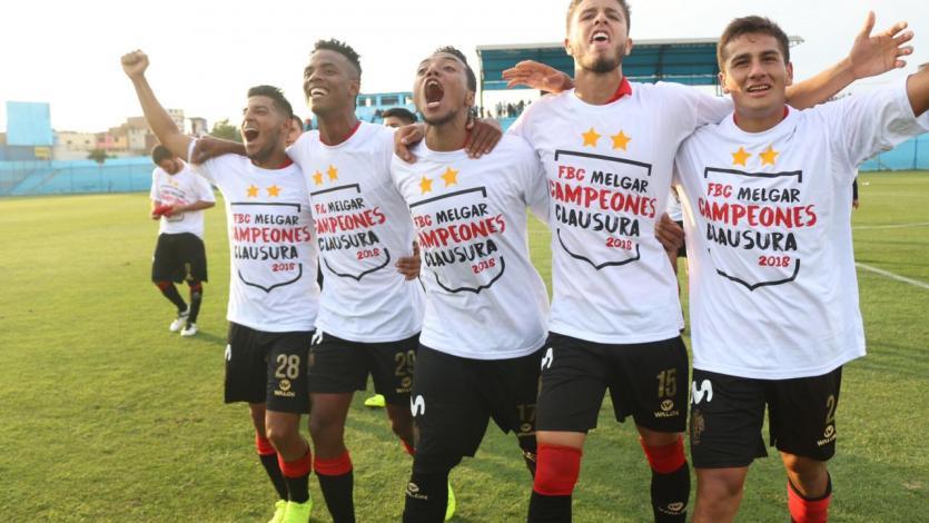 Melgar iguala ante San Martín y se lleva el Torneo Clausura