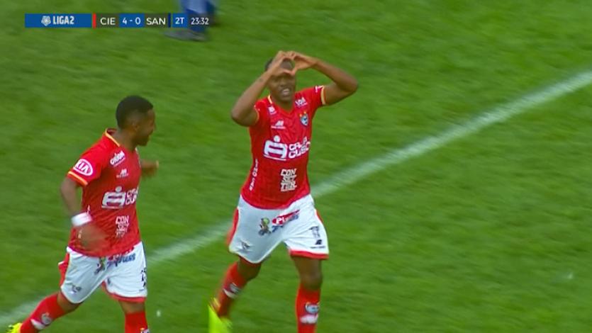 Cienciano se impuso 4-2 sobre Santos FC y se coronó como campeón de la Liga2