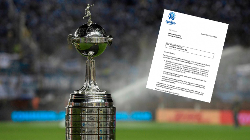 Copa Libertadores: Conmebol suspendió temporalmente el torneo por amenaza del Coronavirus