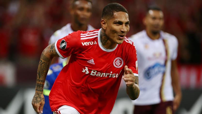 Copa Libertadores: Paolo Guerrero marcó el primero del Inter ante el Tolima (VIDEO)