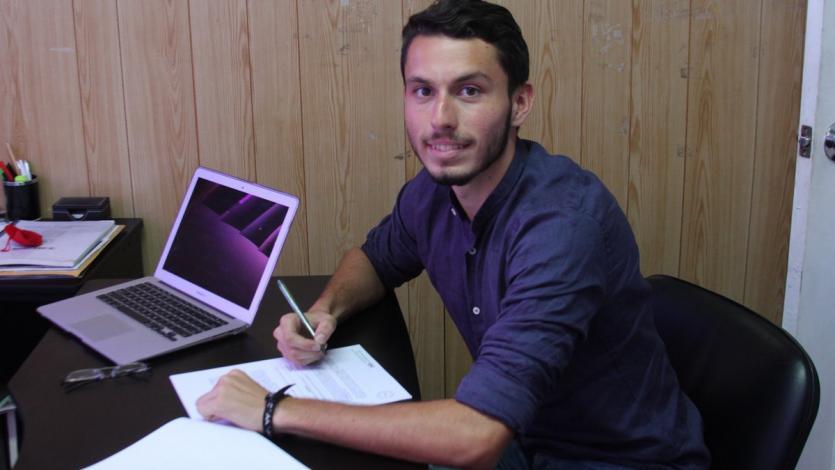 """Marcello Ruiz """"Me ayudó mucho ir por todo el mundo"""""""