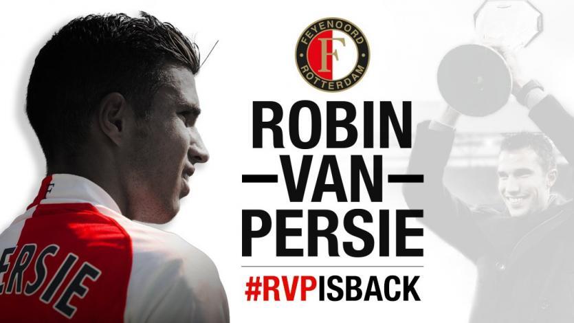 Robin van Persie será compañero de Renato Tapia en el Feyenoord
