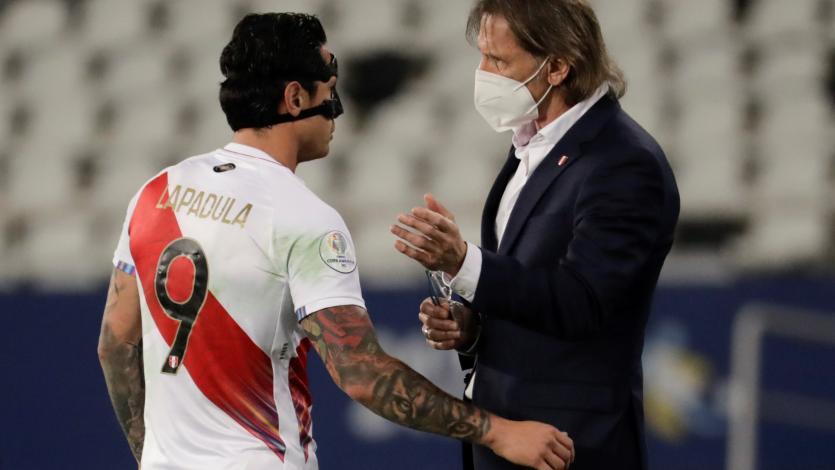 """Ricardo Gareca: """"Pude observar jugadores. Perú llegó nuevamente a semifinales, es algo rescatable"""