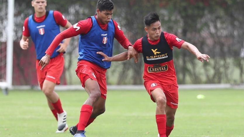 Selección Peruana Sub 20 continuó sus entrenamientos