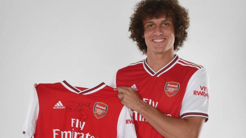 Premier League: David Luiz dejó el Chelsea y fue fichado por el Arsenal de Londres (VIDEO)