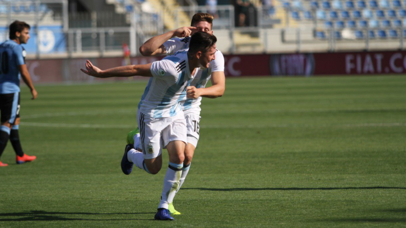 Sudamericano Sub-20: Argentina supera a Uruguay 2-1 y clasifica al Mundial