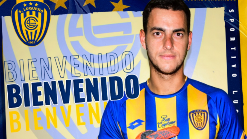 Sportivo Luqueño hizo oficial el fichaje de Alejandro Duarte