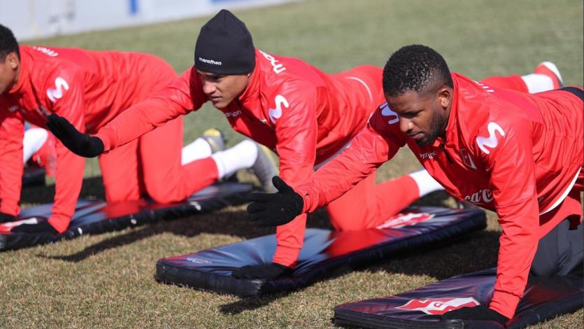 Selección Peruana sumó su tercer día de entrenamiento en New Jersey