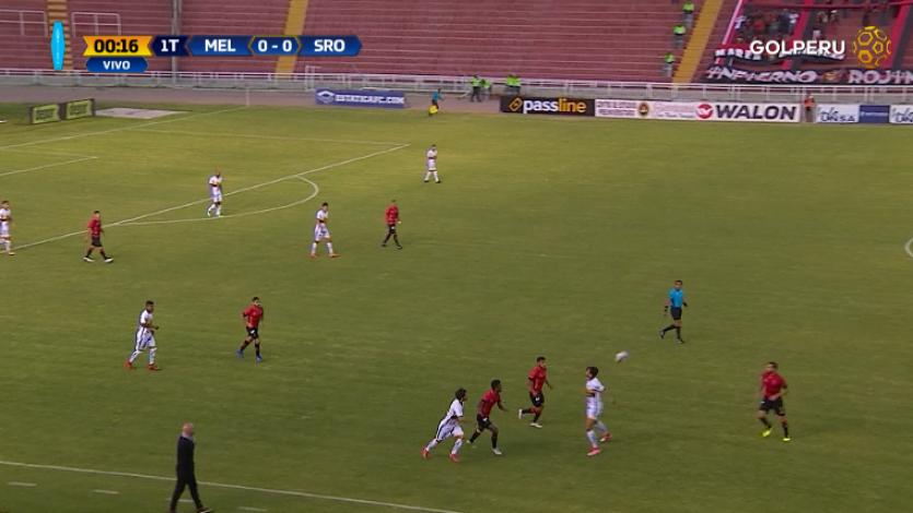 EN VIVO por GOLPERU: FBC Melgar 1-1 Sport Rosario