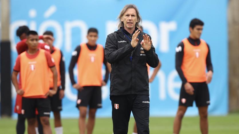 Selección Peruana: el 11 que probó Ricardo Gareca antes de viajar a Ecuador