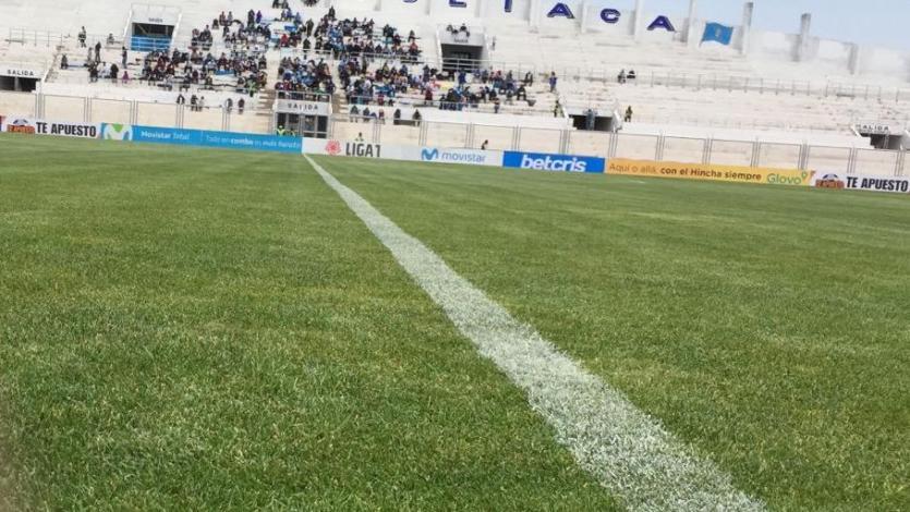 Deportivo Binacinal vs. Alianza Lima: así luce la cancha del estadio Guillermo Briceño (VIDEO)
