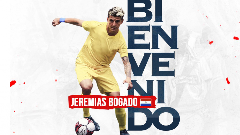 Deportivo Municipal confirmó el fichaje de Jeremías Bogado
