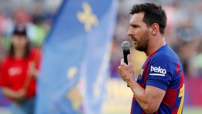 "Barcelona: Lionel Messi volvió a prometer ""pelear todo"" esta temporada"