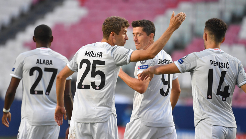 Champions League: Bayern Múnich aplastó 8-2 al Barcelona por los cuartos de final