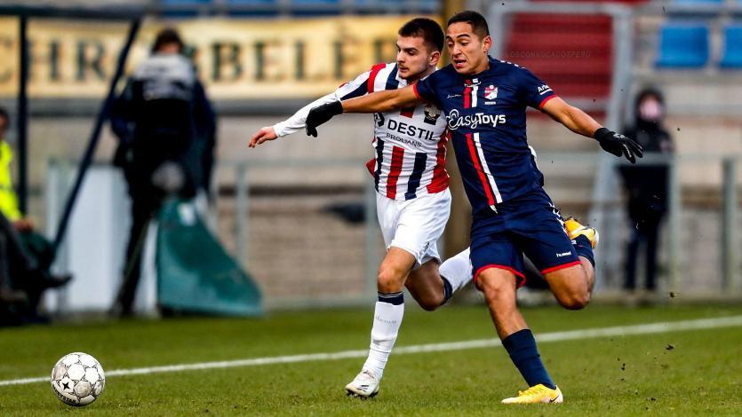 Didier La Torre debutó con 18 años en el fútbol de los Países Bajos